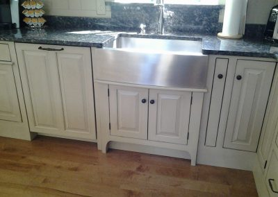 Kitchen with Stainless Apron Front