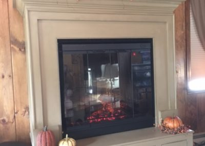 Fire Place Unit